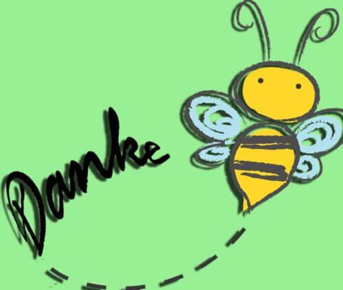 Unsere Bienen danken Möbelhaus Hüsch!